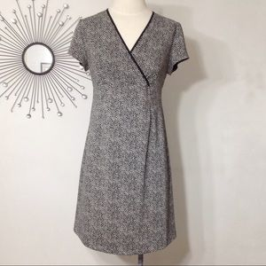 Motherhood Maternity Short Sleeve V-neck Dress
